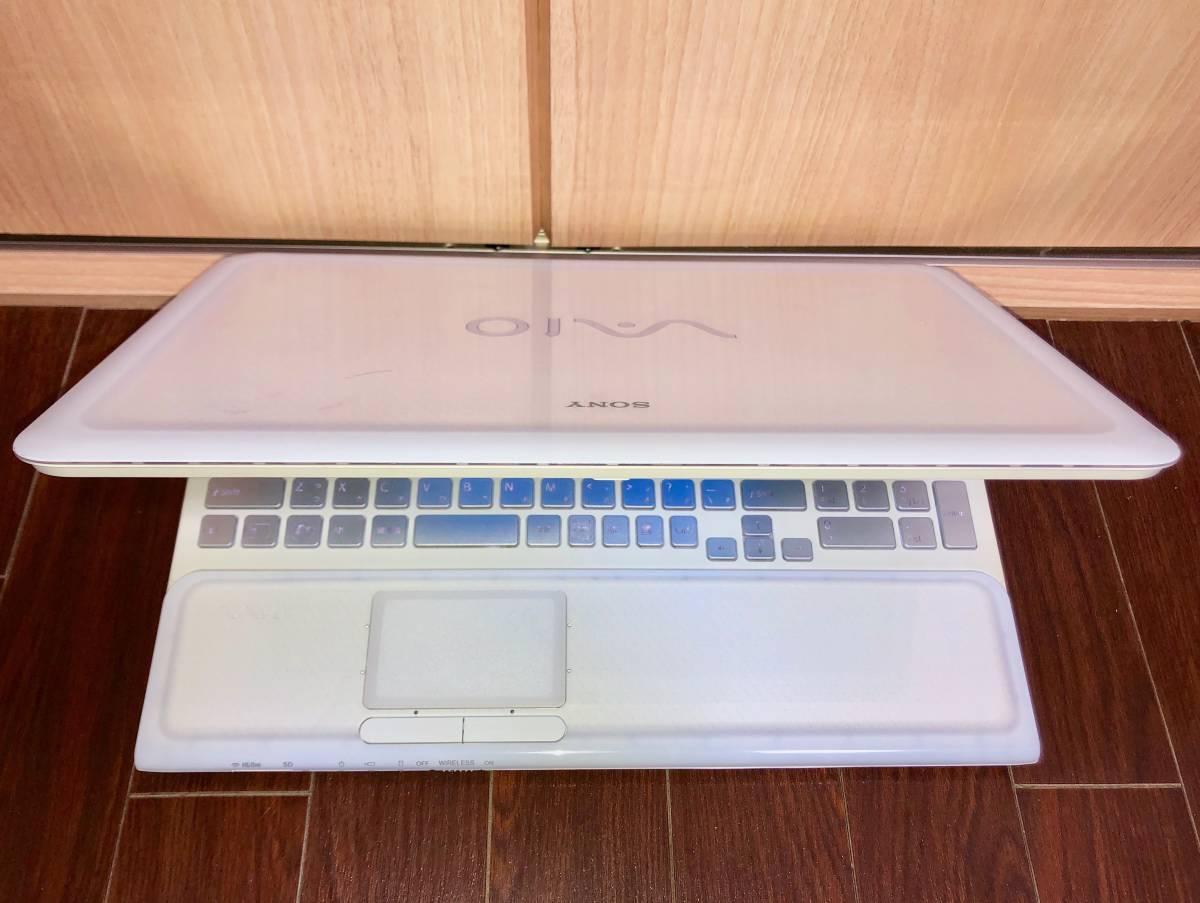 ☆美品☆激速♪バックライトキーボード SONY VAIO☆i7-2670QM (新品)SSD240GB 最新Windows10/メモリ8GB/HDMI/ブルレイ/office搭載/筆ぐるめ_画像2
