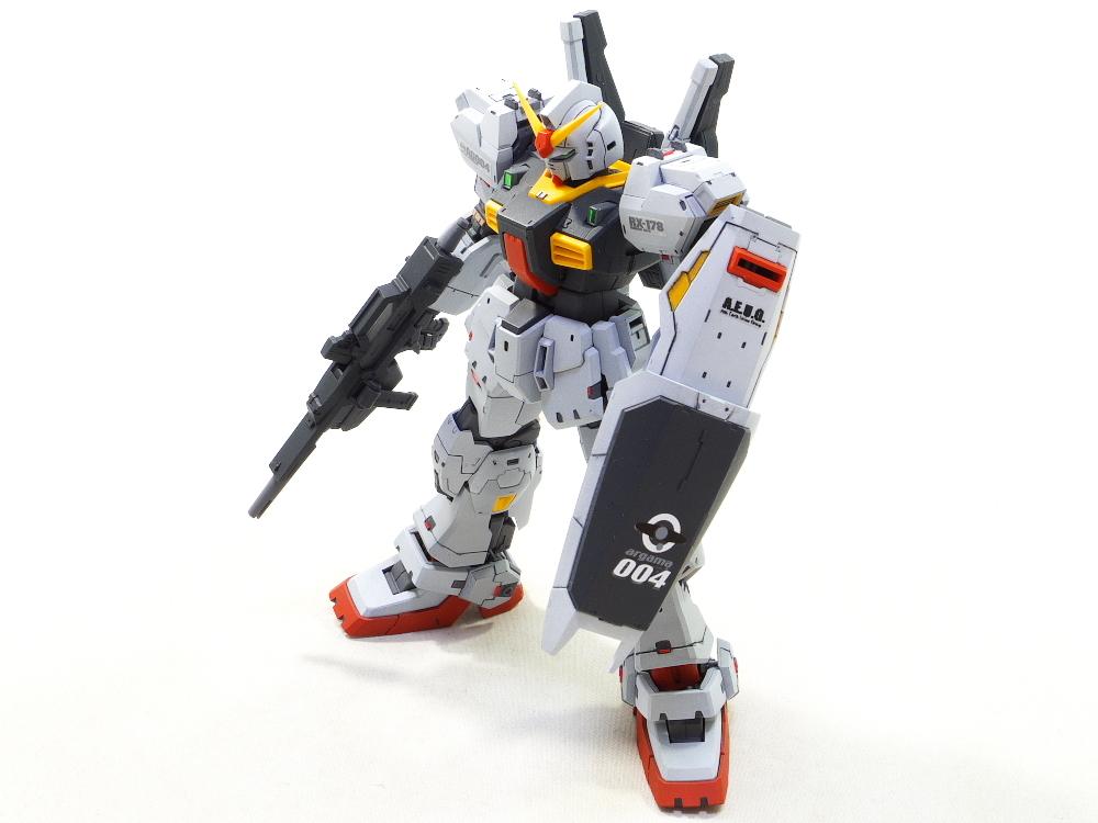 RG ガンダムマークII 改修塗装完成品_画像7