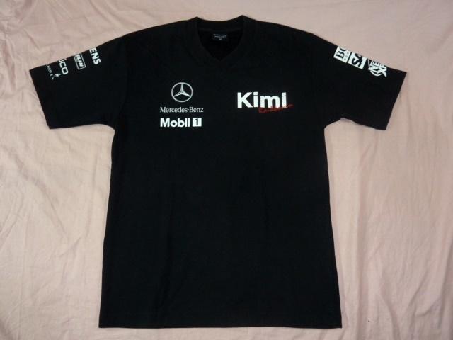 メルセデス・ベンツ/Kimi ライコネン Vネック・Tシャツ M 黒