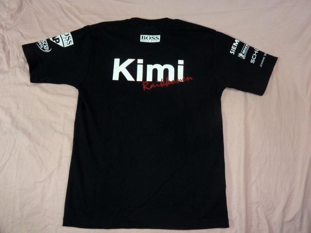 メルセデス・ベンツ/Kimi ライコネン Vネック・Tシャツ M 黒_画像3