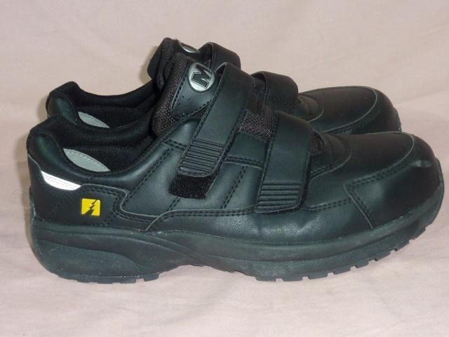 ミドリ安全/ワークプラス 安全靴 25,5EEE 黒_画像2