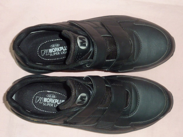 ミドリ安全/ワークプラス 安全靴 25,5EEE 黒_画像4