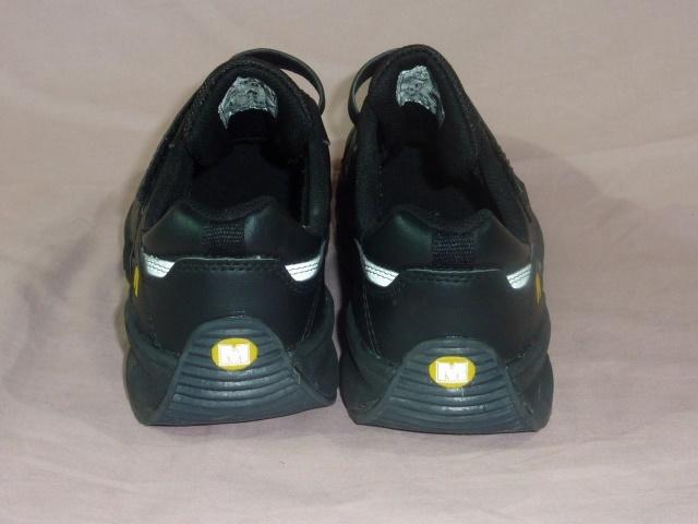 ミドリ安全/ワークプラス 安全靴 25,5EEE 黒_画像5