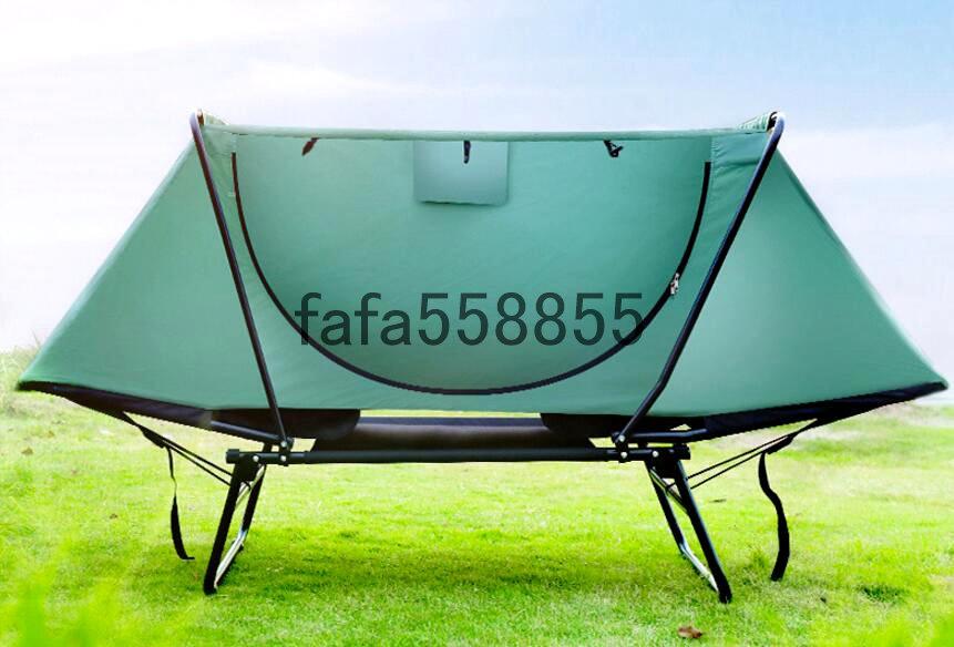 新品 高品質 アウトドア用品 簡易テント キャンプ アウトドア 防虫 防風 晴雨両用 釣り具 1人用_画像5