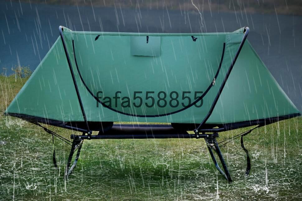 新品 高品質 アウトドア用品 簡易テント キャンプ アウトドア 防虫 防風 晴雨両用 釣り具 1人用_画像4
