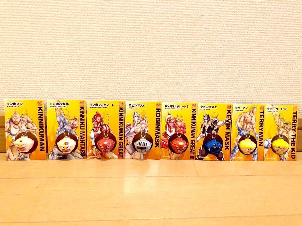 キン肉マン&Ⅱ世 オリジナルどんぶりフィギュア*全8種コンプ