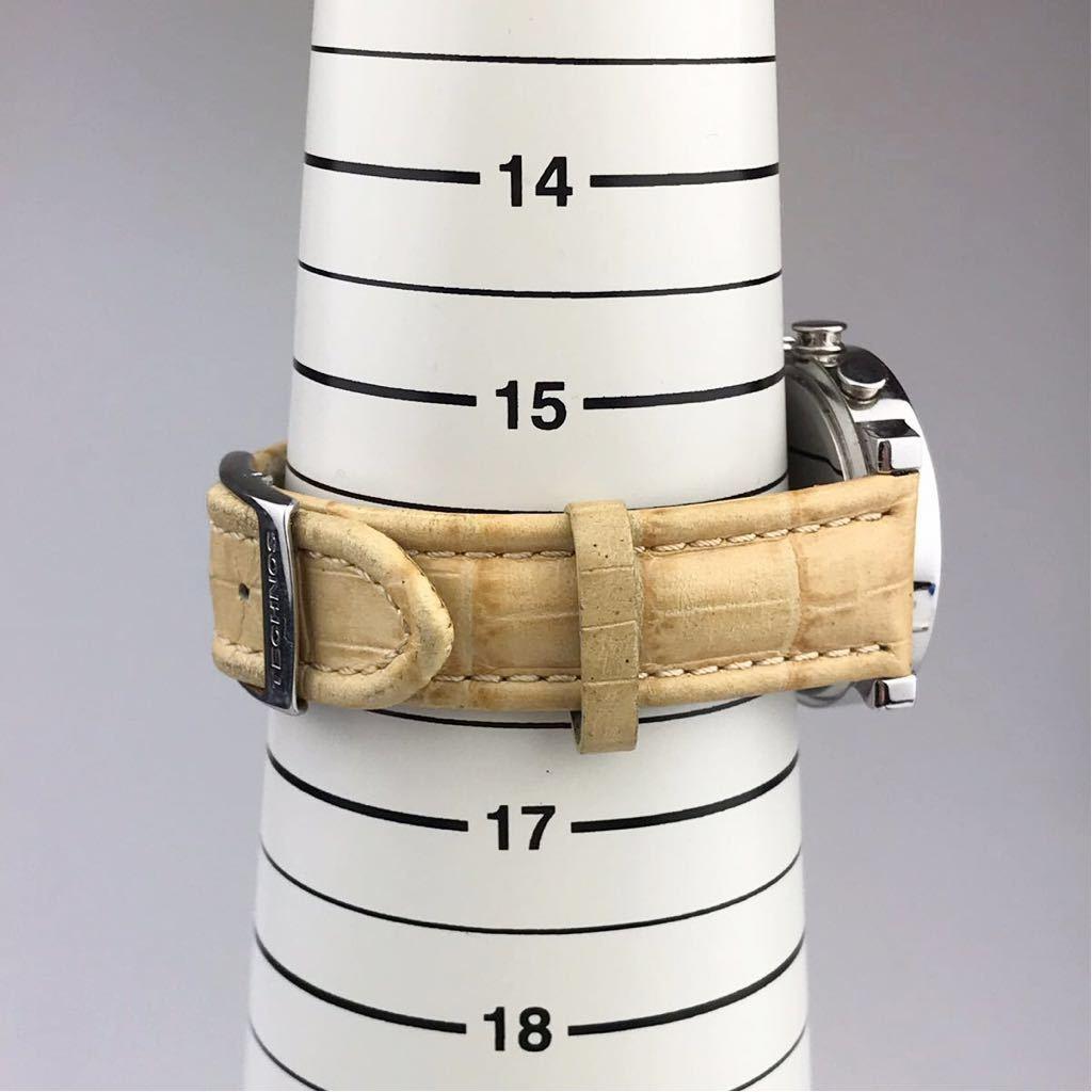 TECHNOS テクノスTKBC825 クロノグラフ クォーツ 腕時計■ ジャンク 動作品 電池交換済_画像10