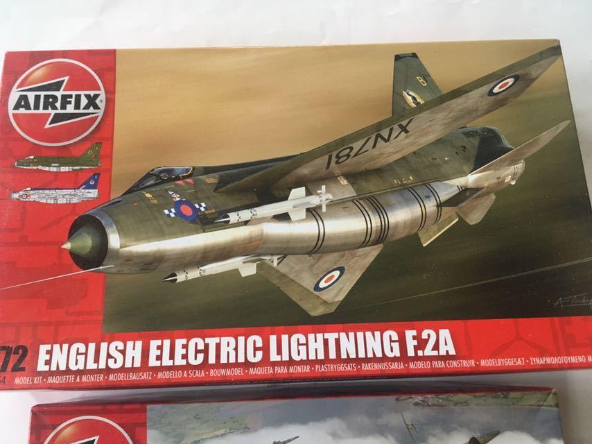 エァーフックス 1/72 ライトニングF.2A デファイアントMk.1 2機セット_画像2