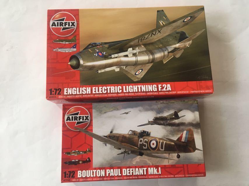 エァーフックス 1/72 ライトニングF.2A デファイアントMk.1 2機セット