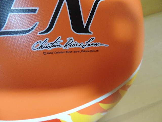 ☆C.R.LASSEN/クリスチャン・ラッセン ビーチボール 60cm プール用品 水遊び 浮き輪☆  _画像3