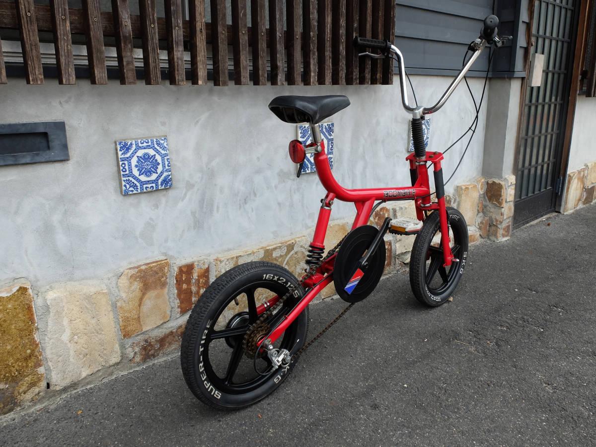 昭和レトロ 80's セキネ ブーンバイク 後期/最終型/3速/SEKINE BOON BIKE ♯ファニーバイク/モトバイク/クッションバイク/OLD BMX_画像3