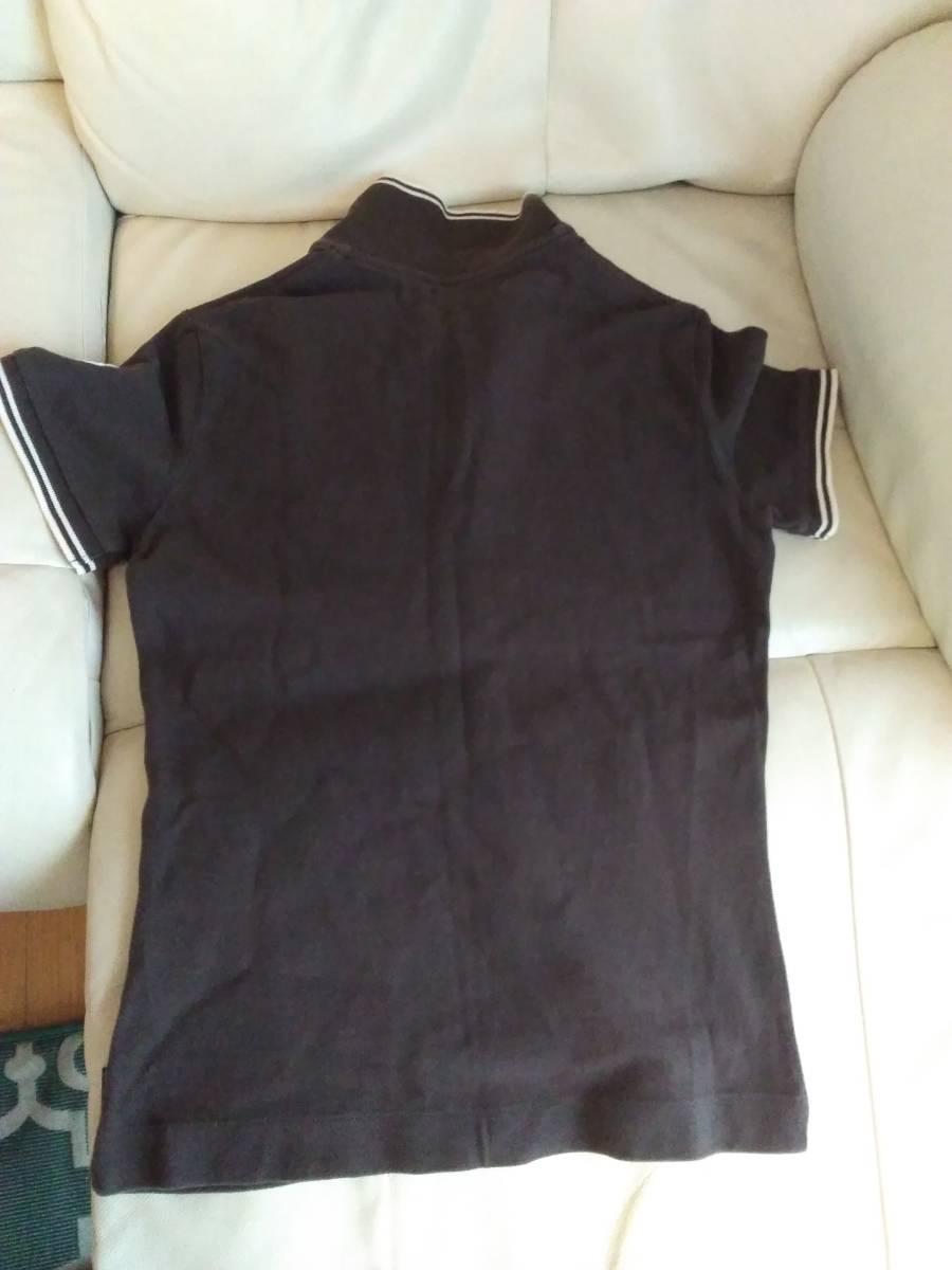 送料込 MONCLER モンクレール 半袖ポロシャツ ブラウン レディース  sizeS_画像4