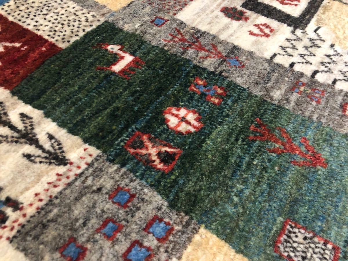 廊下用ギャッベ絨毯ゾランヴァリ社タグ付き世界中探してもない価格です!3日のみ半額より!これで落札できたらもってけ泥棒価格日本発送_画像9