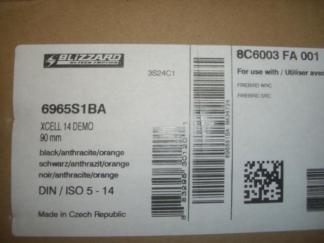 18/19 ブリザード 170cm 新品 R16.5 ビン付  FIREBIRD WRC  訳あり  N123  ua _画像4