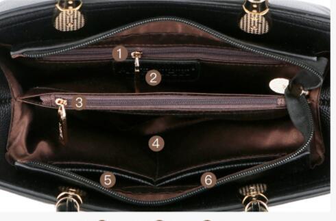 124119レディース ショルダーバッグ ハンドバッグ バッグ 2way 本革 レザー 人気 素敵 気質よい 大容量 通勤 出張 旅行 高級感 _画像5