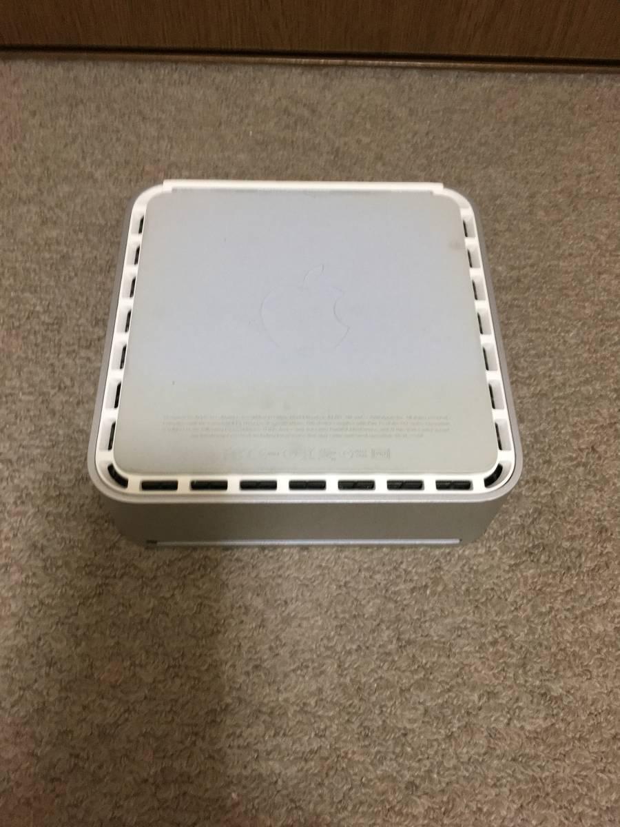 Apple Mac mini (Early 2009) Core2Duo メモリ:4GB HDD:500GB OS X El Capitain_画像4