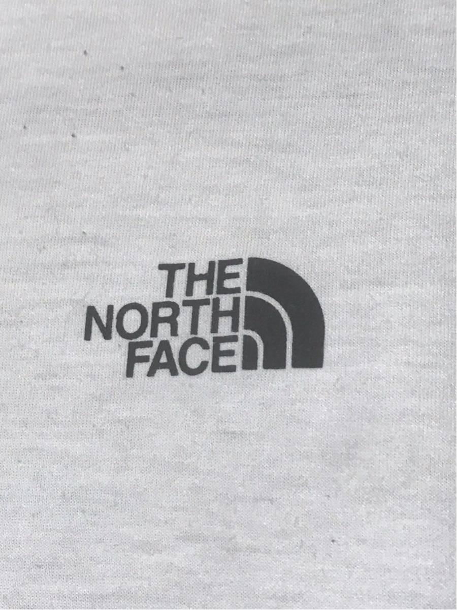 【美品/国内正規品】THE NORTH FACE ザノースフェイス ボックスロゴ グラフィック NT31893 スクエア ロゴティー Tシャツ メンズXLホワイト_画像4