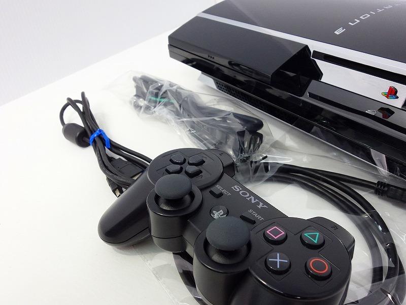 【動作確認済】【日本製】PS3 本体 初期型 CECHA00 PS2遊べるモデル★純正コントローラー、新品HDMIケーブル付★すぐ遊べるセット★c1_画像2