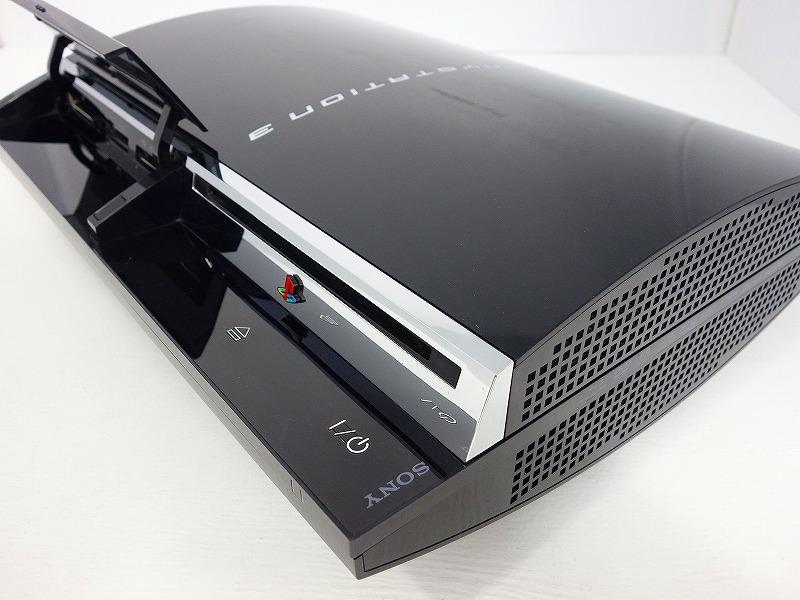 【動作OK】【日本製】【HDD160GB換装】PS3 本体 初期 CECHA00 PS2対応モデル★純正コントローラー2個 新品HDMIケーブル付★即遊べるセット_画像5