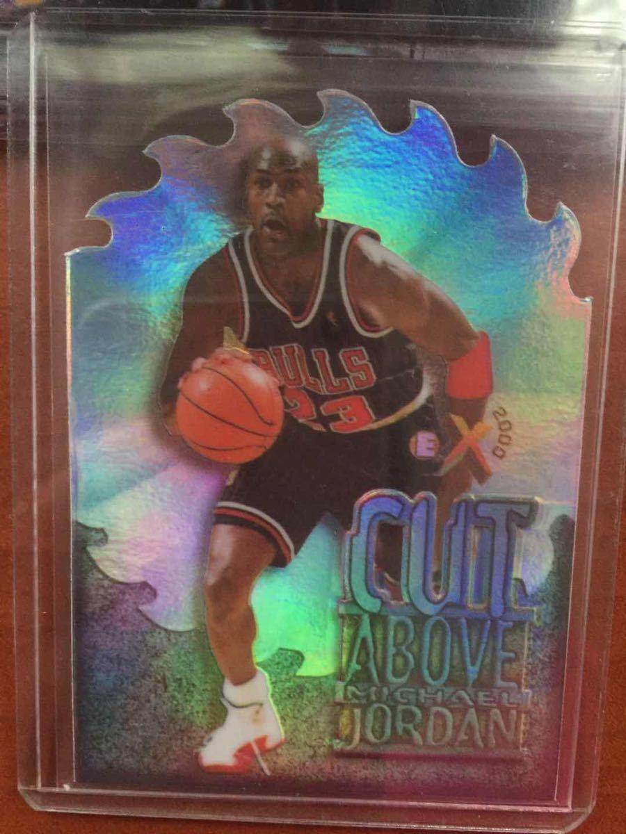 1996-97 E-X2000 A Cut Above Die Card Chicago Bulls Michael Jordan