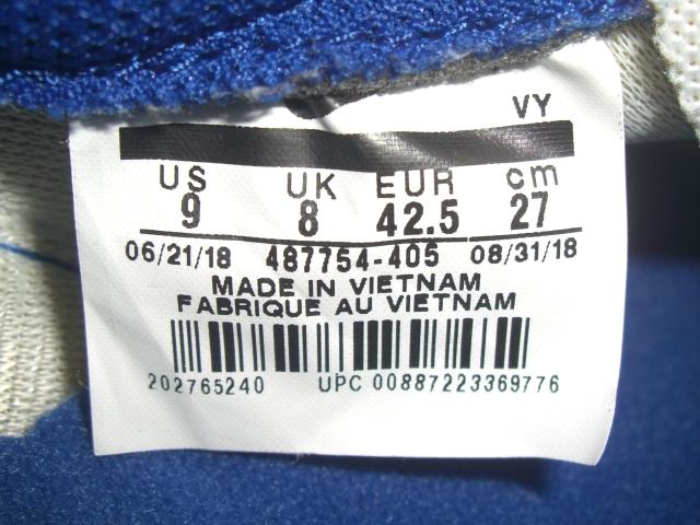 完売 展示品 復刻 NIKE AIR TAILWIND 79 ナイキ エア テイルウィンド ワッフル ランニング スニーカー 27cm インディゴ ブルー ホワイト_画像8