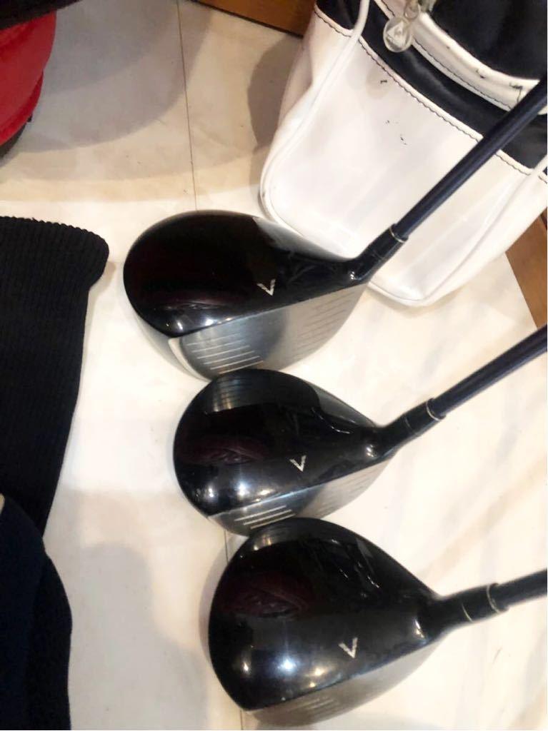 送料無料 豪華 レディースゴルフクラブ 本格フルセット ブリジストン ツアーステージ VIQ 優しい 初心者~上級者 クラブケース付き _画像9