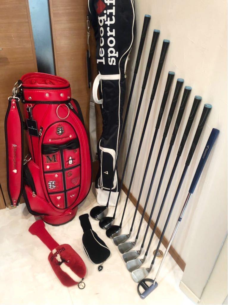 送料無料 豪華 レディースゴルフクラブ 本格フルセット ブリジストン ツアーステージ VIQ 優しい 初心者~上級者 クラブケース付き _画像5