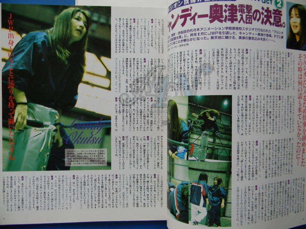 【女子プロレス】Lady'sゴング 1998年 vol.24 アルシオン最新情報、1・23JWP川崎速報 _画像4