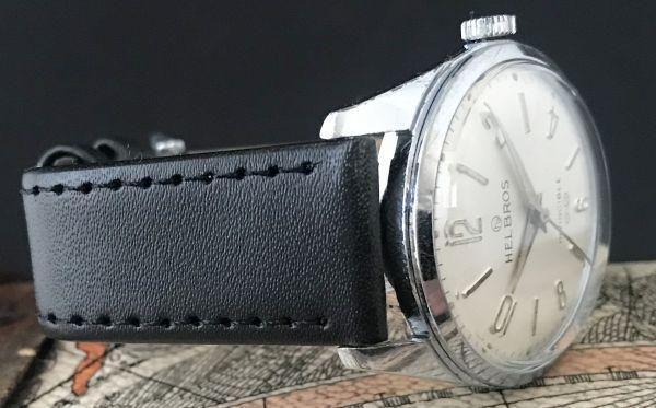 ☆古いスイス製機械式☆HELBROS(ヘルブロス) アンティーク ヴィンテージ 手巻き メンズ腕時計☆オーバーサイズ☆_画像5