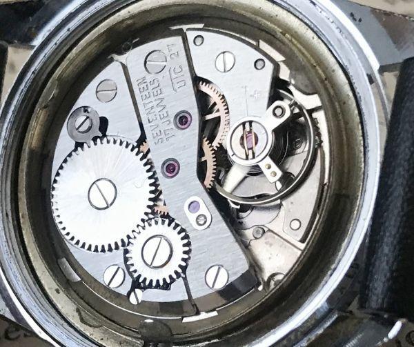 ☆古いスイス製機械式☆HELBROS(ヘルブロス) アンティーク ヴィンテージ 手巻き メンズ腕時計☆オーバーサイズ☆_画像8