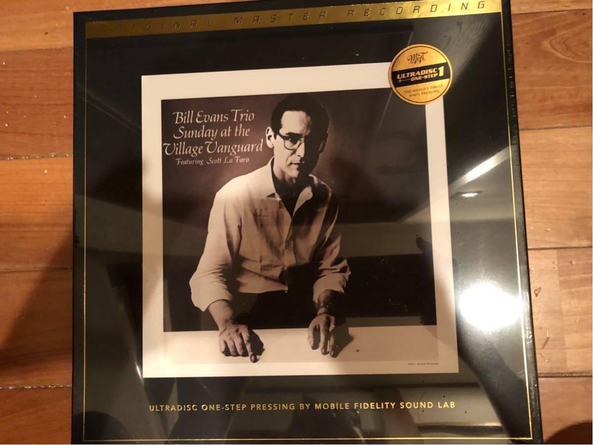 ★日本未流通?MFSL盤BOX!Bill Evans Trio Featuring Scott La Faro / Sunday At The Village Vanguard★45回転2枚組 SN2593/3000 未開封