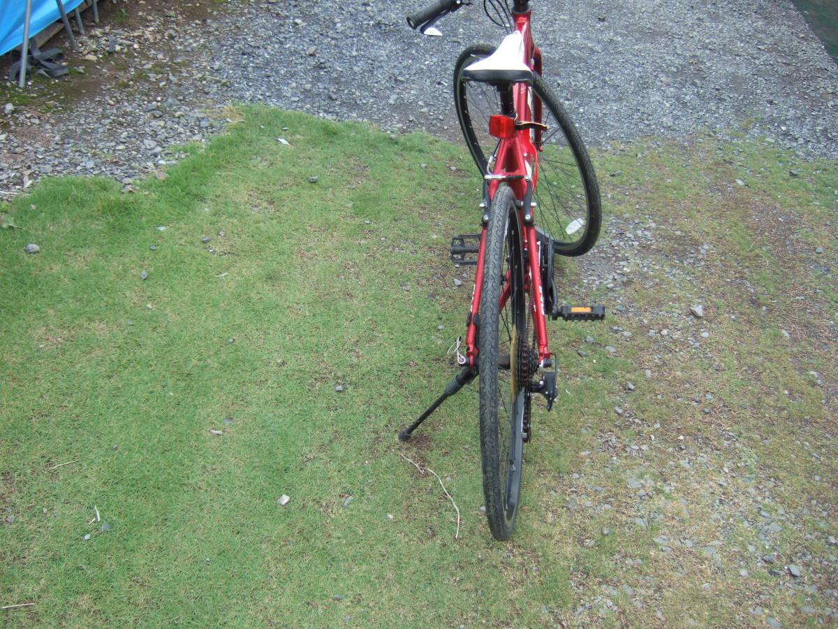 SATU58 FUJI フジ SPARROW スパロウ  サイズM 自転車 クロスバイク 28-622 700C×28 ワイン 引取り限定_画像3