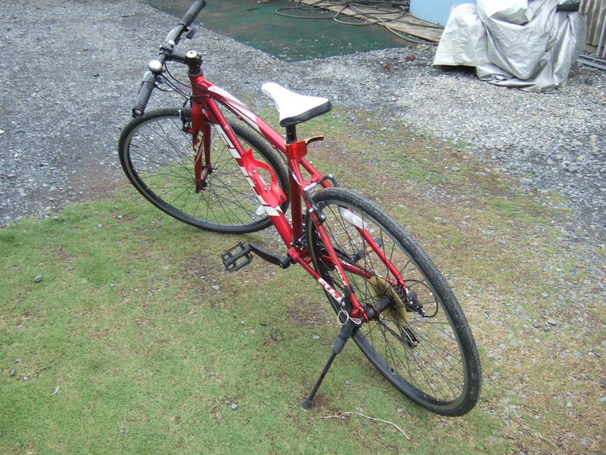 SATU58 FUJI フジ SPARROW スパロウ  サイズM 自転車 クロスバイク 28-622 700C×28 ワイン 引取り限定_画像4