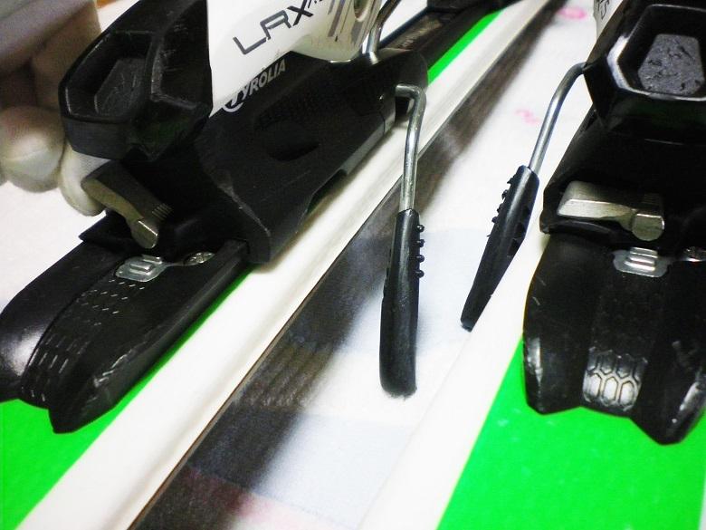 調整金具付 ヘッド HEAD SUPERSHAPE 140cm + チロリア LITE RAIL LRX7.5 カービング_画像7
