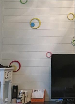 ☆新品、未使用★50枚 70cm×70cm 厚さ6.5mm 背景壁 3D立体レンガ模様壁紙 防水 汚い防 止 カビ防止 エコ素材☆_画像6