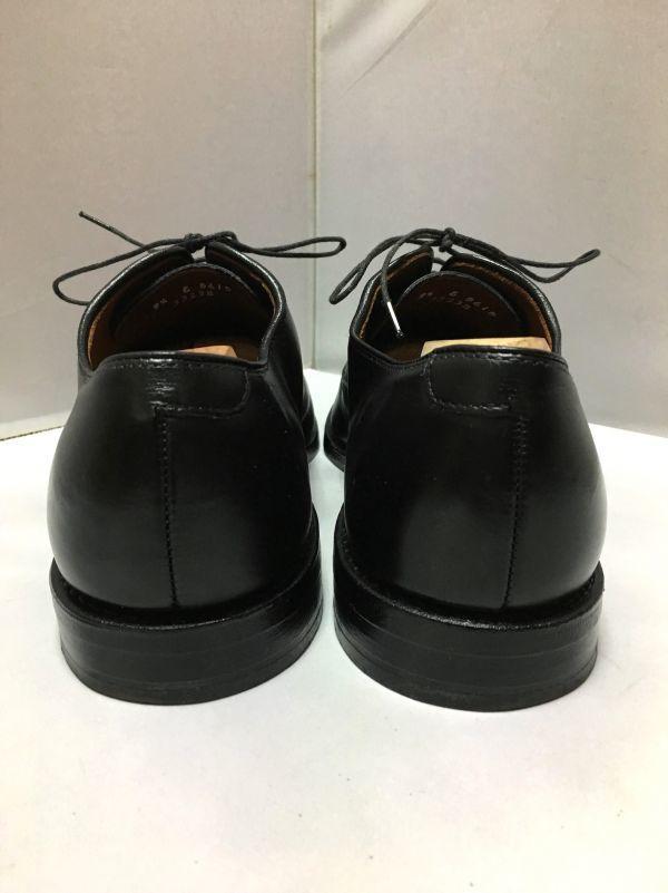 【超美品/幅広】ALLEN EDMONDS アレンエドモンズ Park Avenue パークアベニュー ストレートチップ US9.5E(約27.5cm) ブラック 革靴_画像5