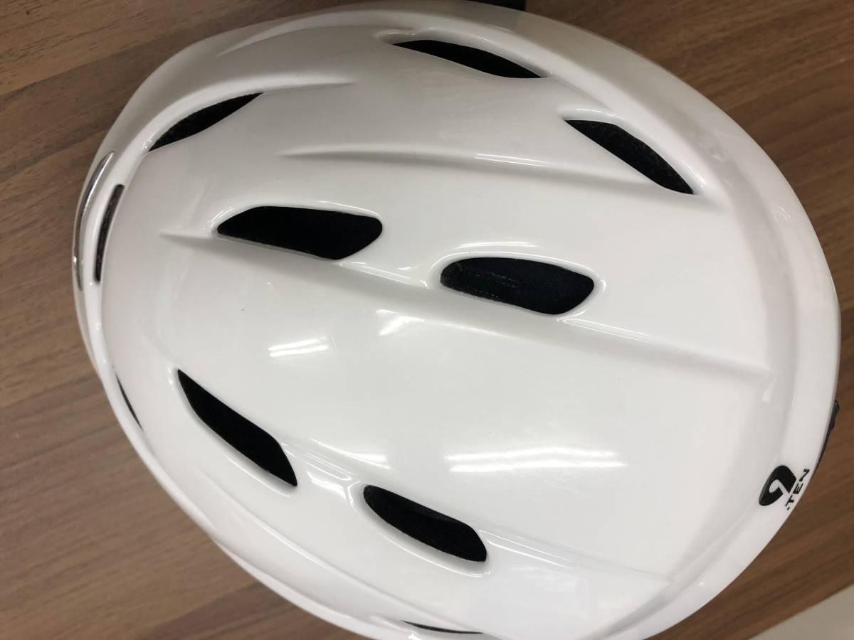 スノーボード用品 ヘルメット GIRO ジロ 9.TEN ホワイト サイズM(55.5~59cm)_画像4