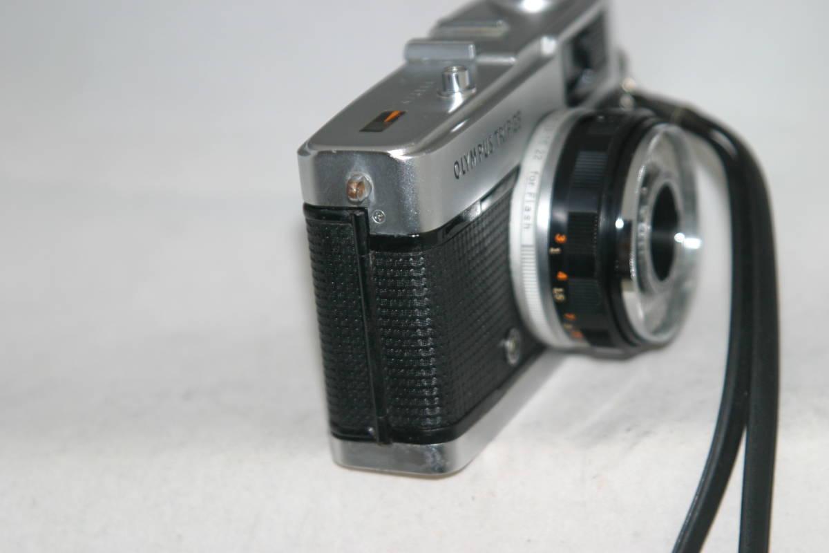 整備済 オリンパス トリップ35 モルト張替済 ストラップ付_画像7