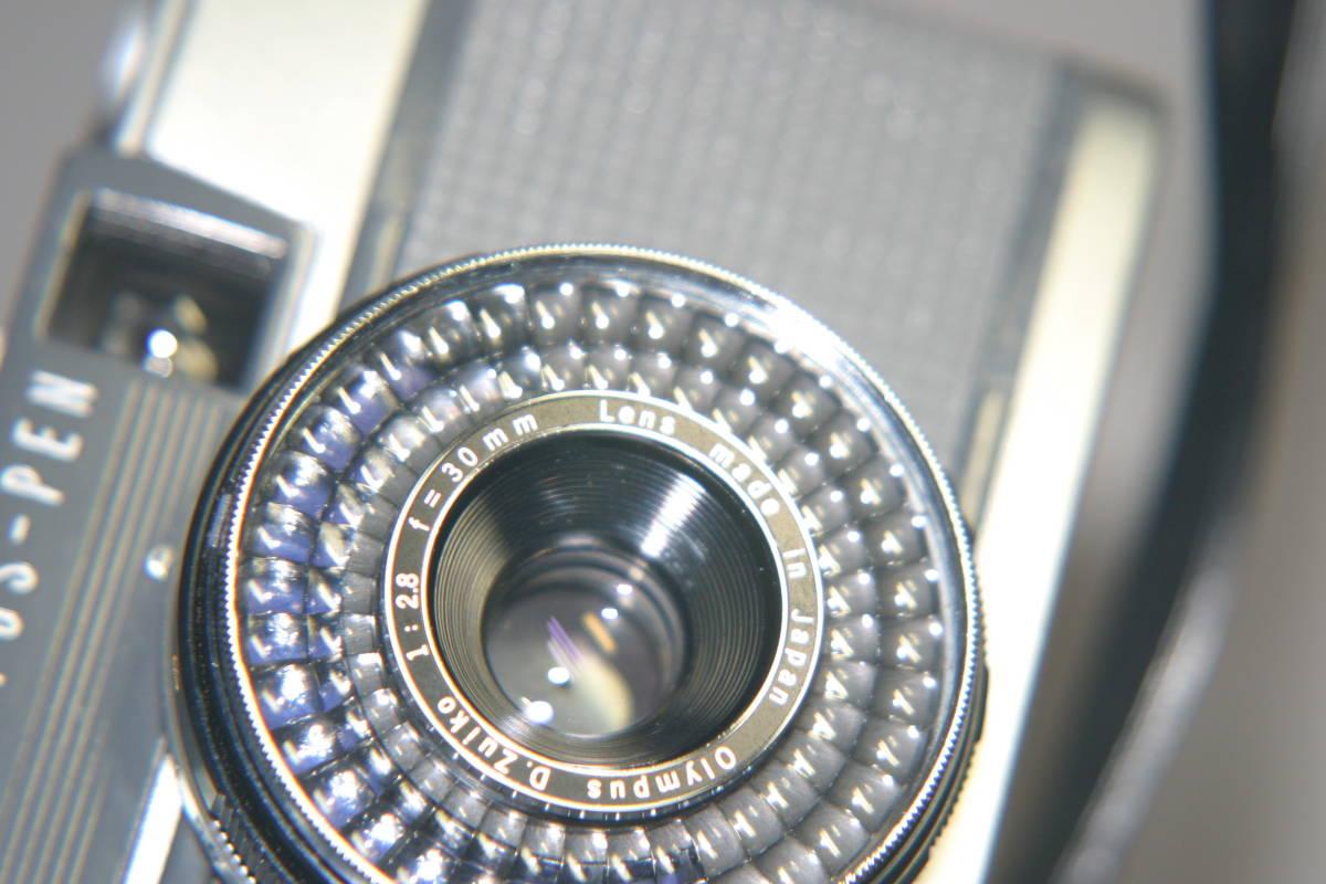 整備済 オリンパスペンEES-2 モルト張替済 レンズキャップ・ストラップ付_画像8