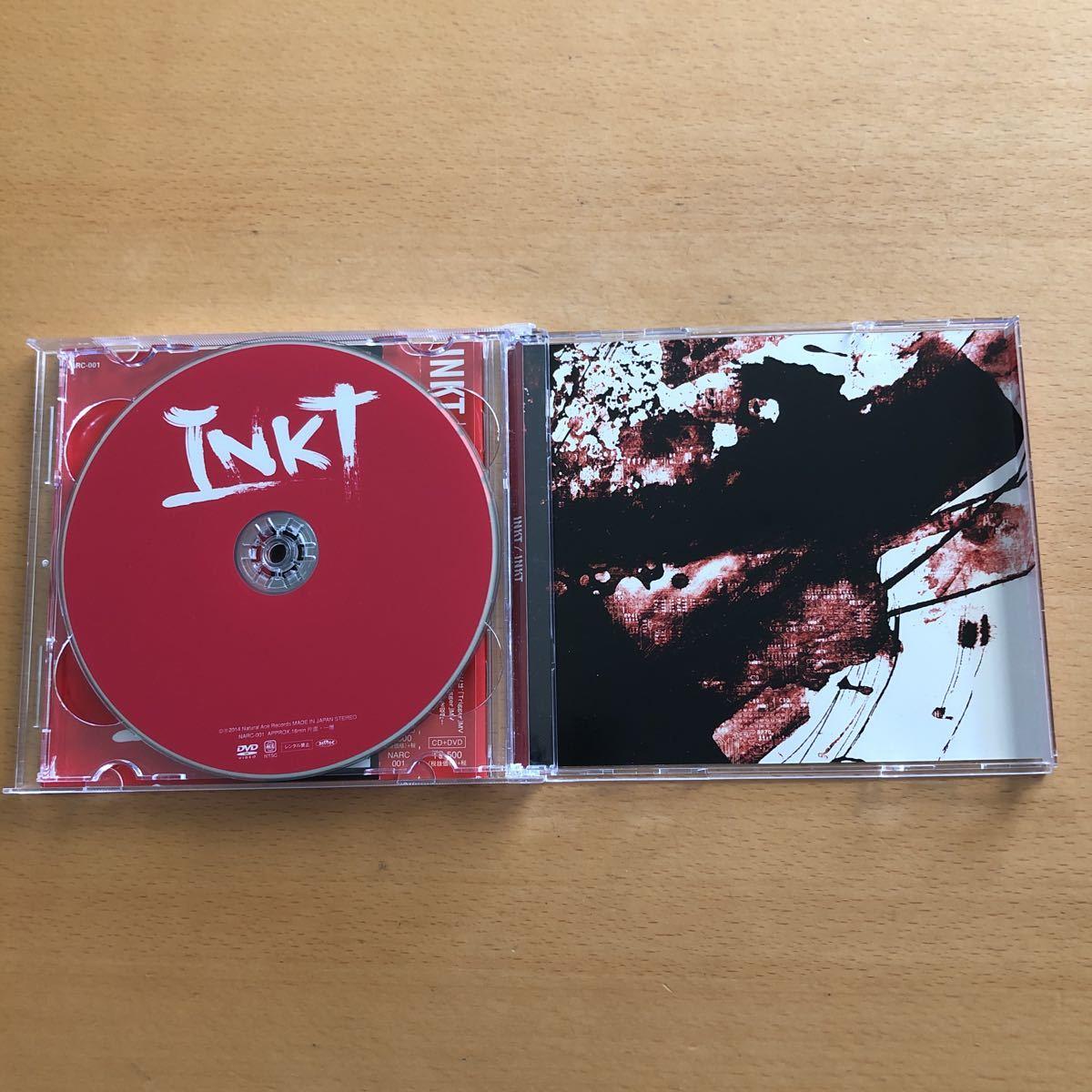 INKT『INKT』初回限定盤CD+DVD☆帯付☆美品☆アルバム☆ステッカー付☆96_画像3