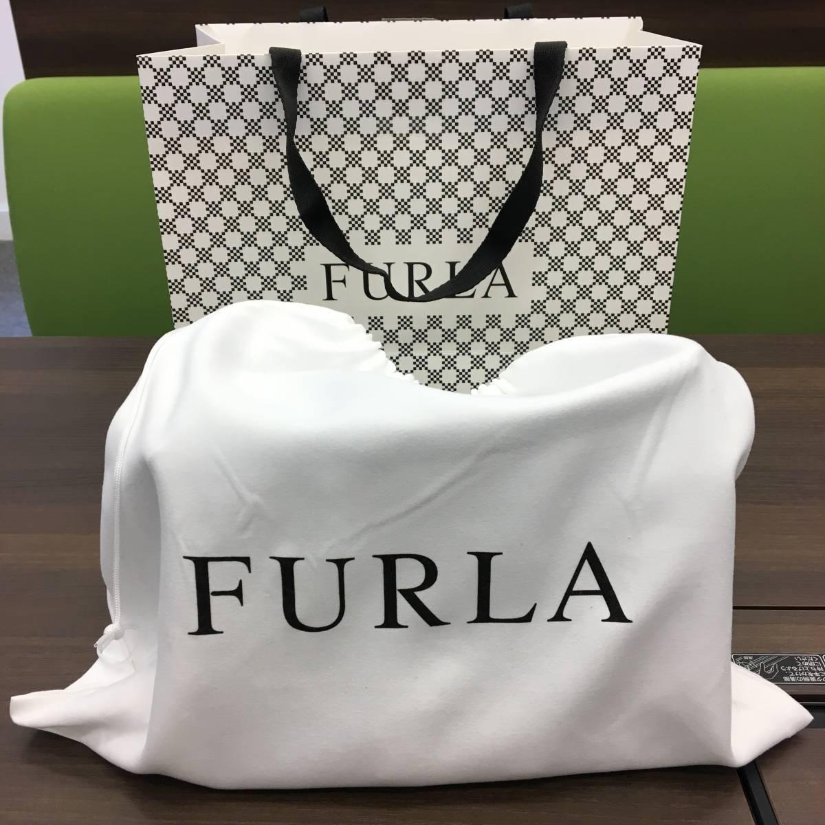 新品未使用 FURLA フルラ ショルダーバッグ 保存袋付き