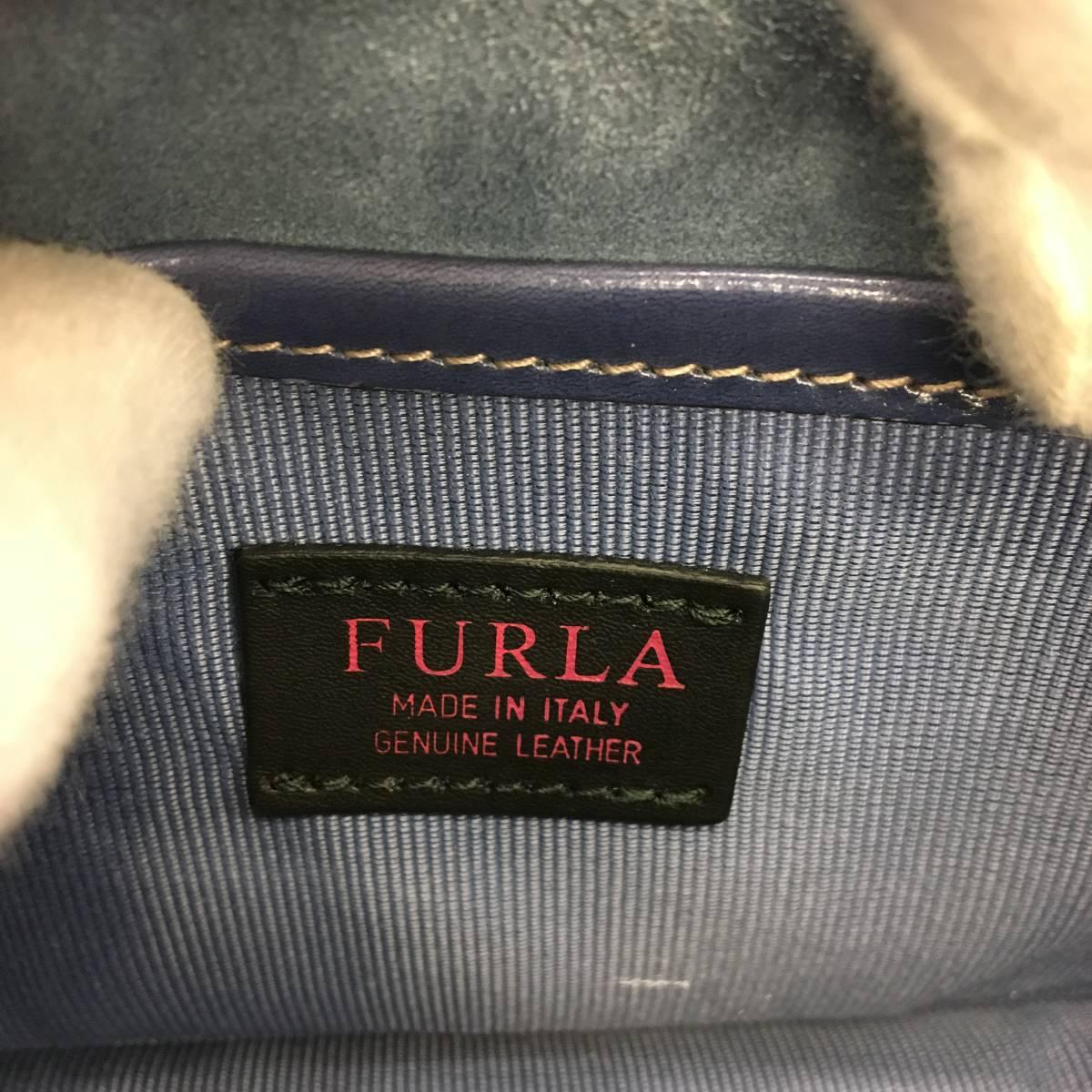 新品未使用 FURLA フルラ ショルダーバッグ 保存袋付き_画像9