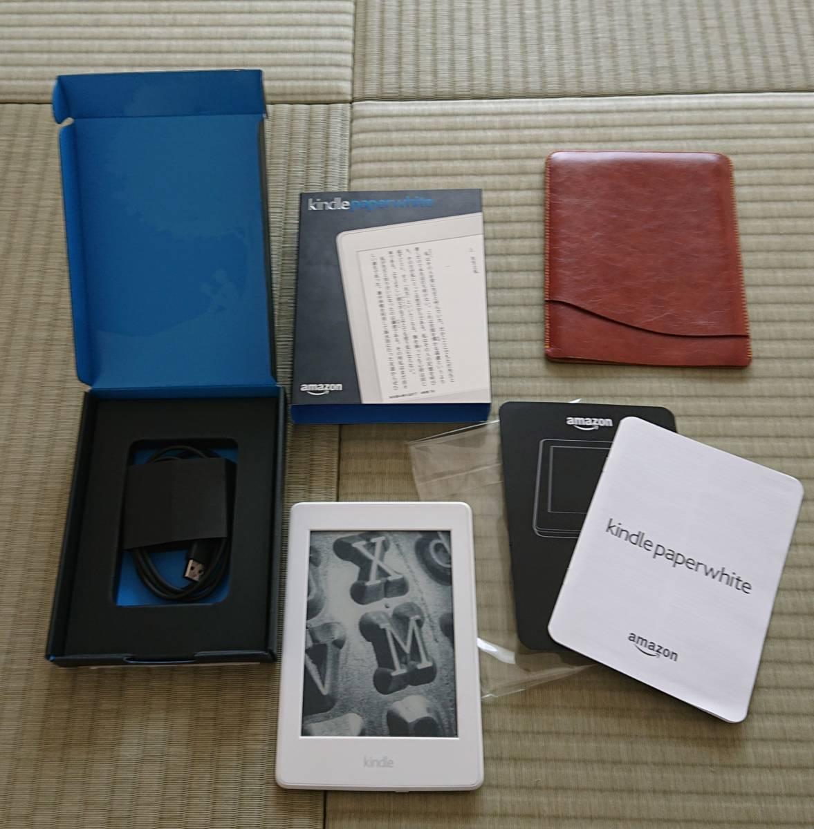 Kindle paper white キンドルペーパーホワイト 32GB フィルム・カバー付き 美品