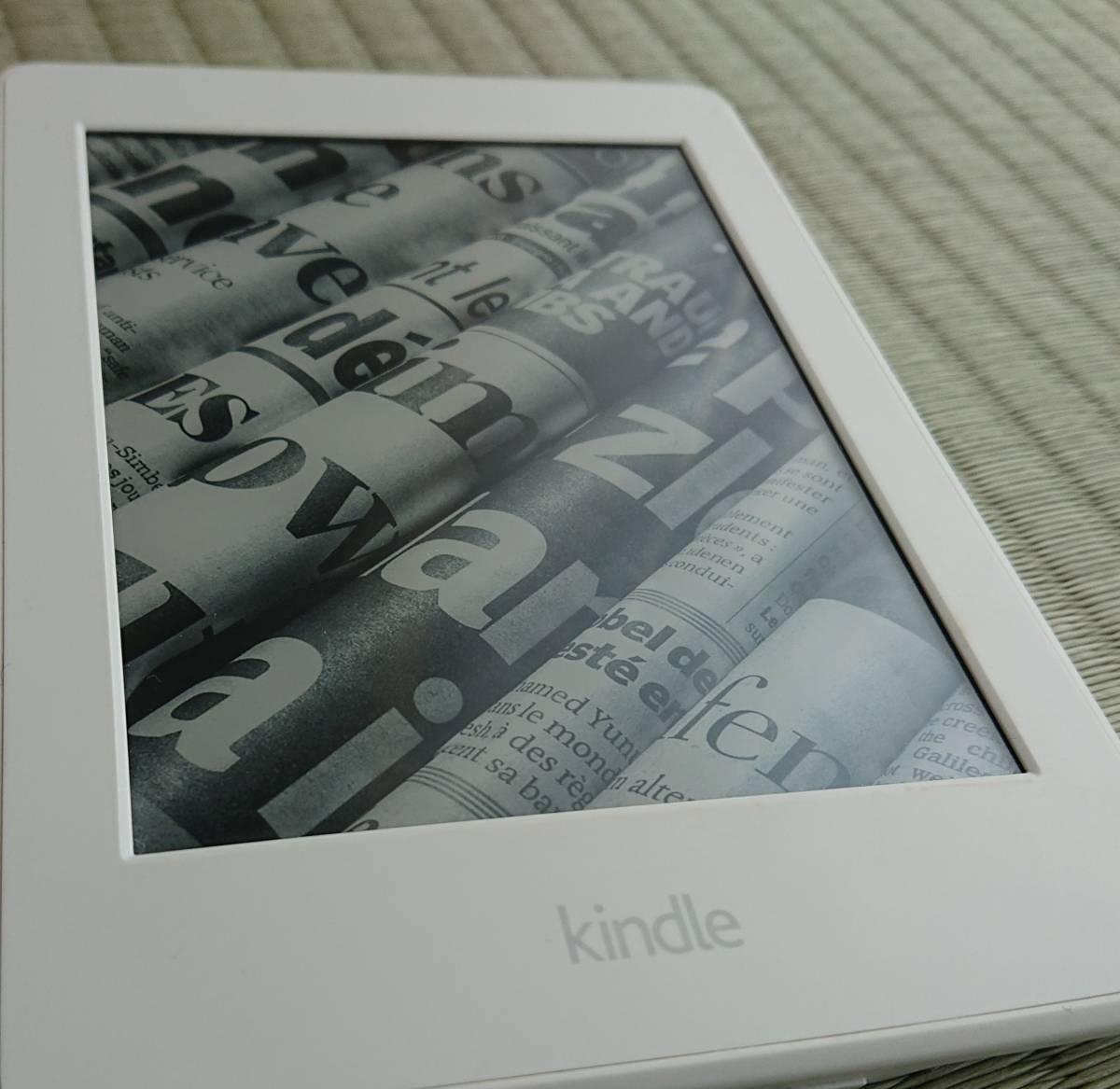 Kindle paper white キンドルペーパーホワイト 32GB フィルム・カバー付き 美品_画像2