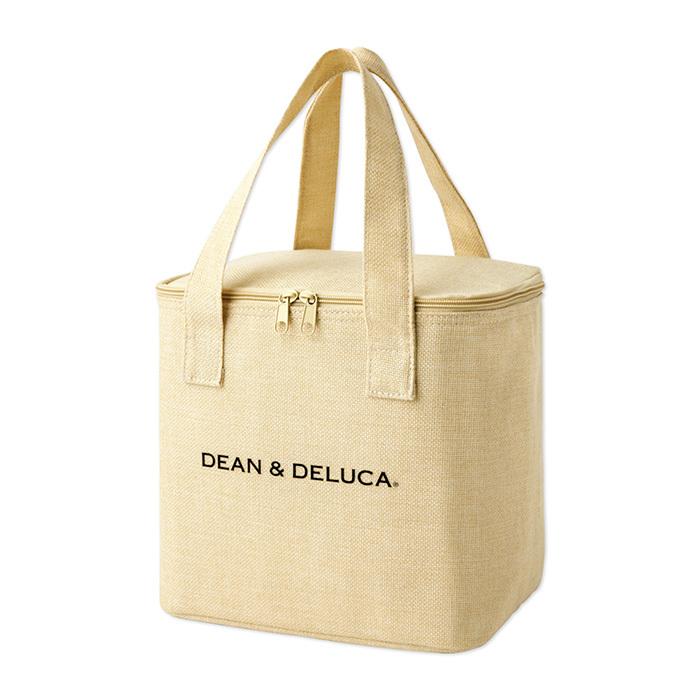 レア!新品 DEAN & DELUCA ディーン&デルーカ リネン風保冷バッグ glow付録