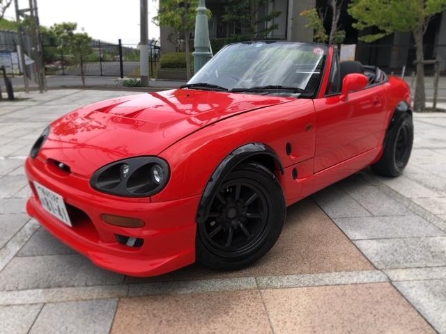 カプチーノ 720cc公認 ★EA11R改 ★車検 33年4月 ★整備済み 美車 ★