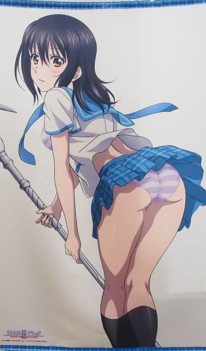 ストライク・ザ・ブラッド II OVA/C91/等身大タペストリー/姫柊雪菜/R496