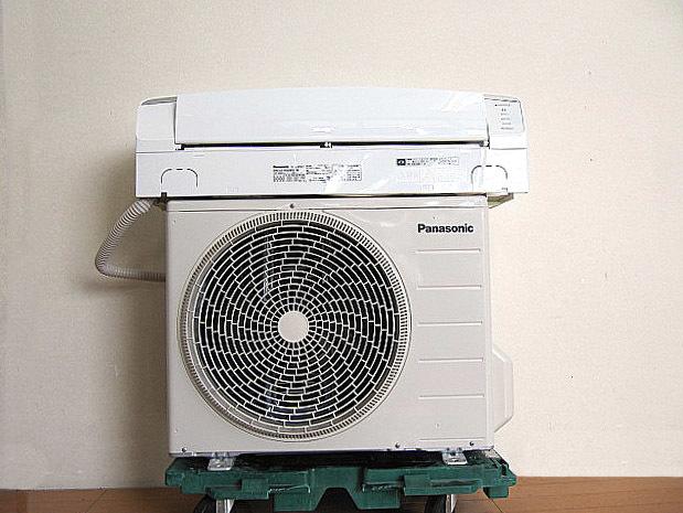 美品 2018年製 Panasonic/パナソニック ルームエアコン CS-EX288C エオリア ナノイーX/自動お掃除/2.8KW/10畳~12畳