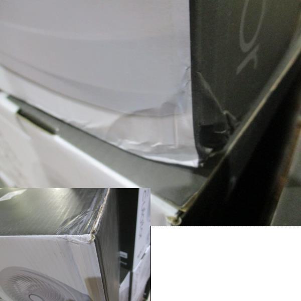 未使用  3Dターボサーキュレーター EFT-1705  扇風機 夏冬兼用 洗濯屋内干し 白 ホワイト_画像10