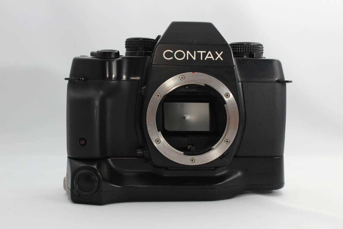 CONTAX/コンタックス ST body ボディ,バッテリーグリップ BATTERY HOLDER P-7付 #1939_画像2